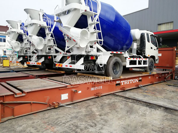 DW-4 ready mix concrete truck philippines