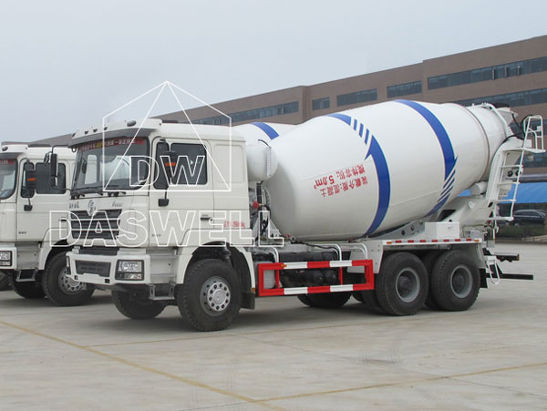 DW-5 ready mix concrete mixer truck