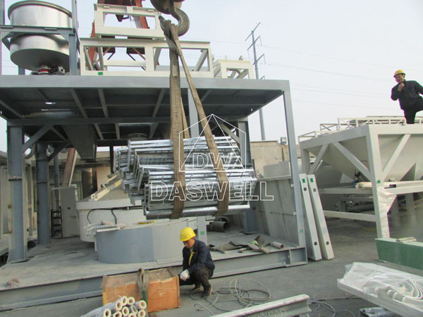 HZS180 concrete batch plant for sale