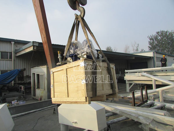 HZS180 concrete batching mixing plant