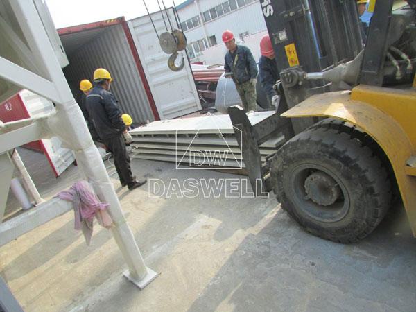 HZS180 concrete plant