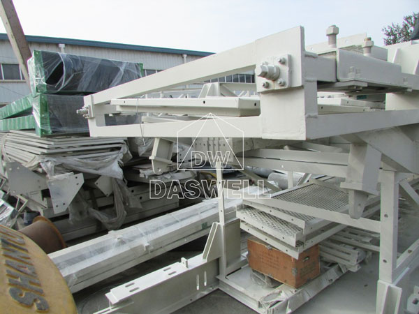 HZS180 stationary batching mixing plant