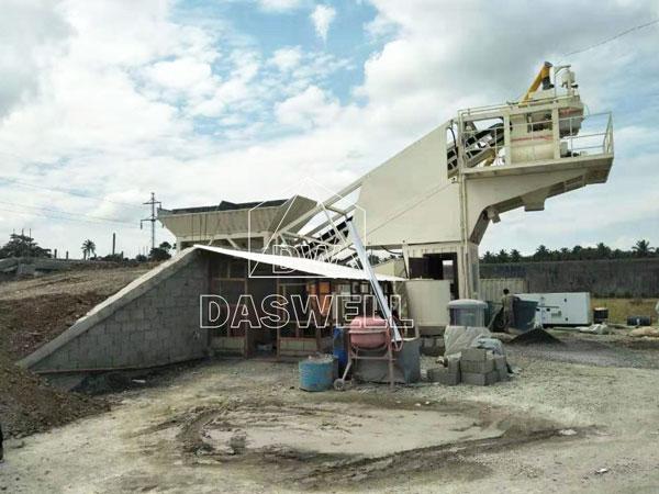 MCBP25 concrete batching plant