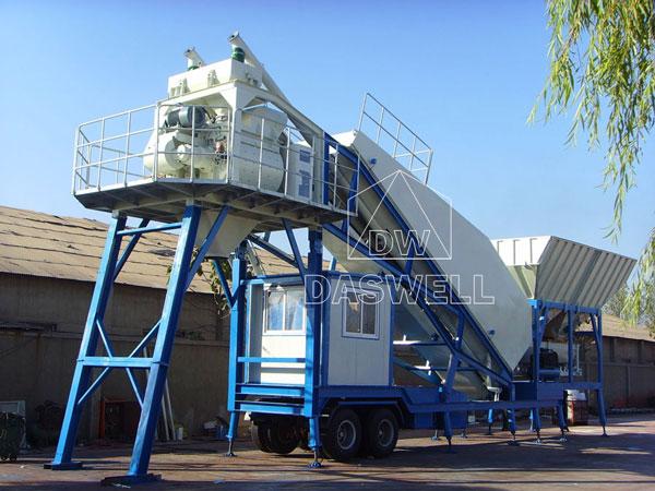 MCBP50 concrete batching plant