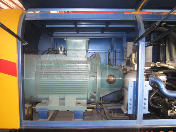 driven motor portable of pump
