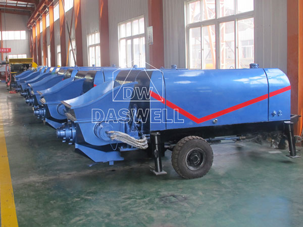 small pump production process
