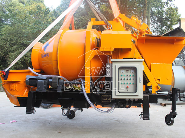 transport portable mixer pump to Manila