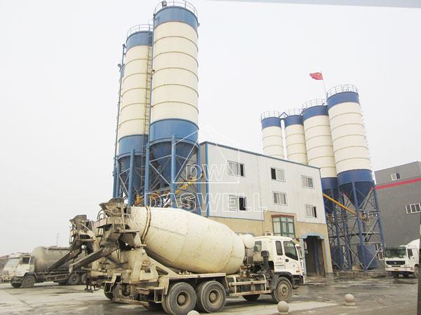 CBP180 cement batch mix plant machine