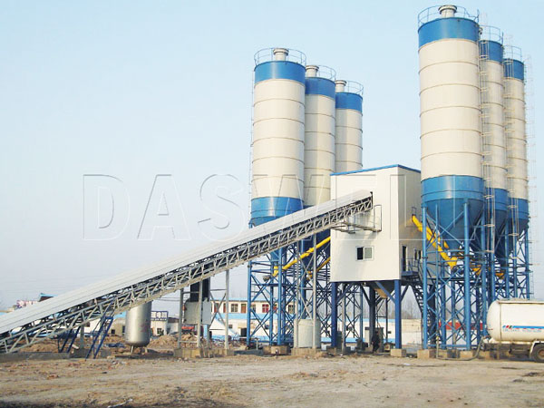 CBP180 concrete batching plant