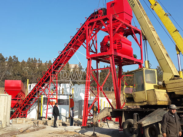 CBP60 cement mixing plant