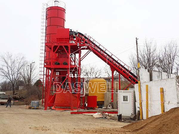 HZS60 concrete plant philippines manufacturer