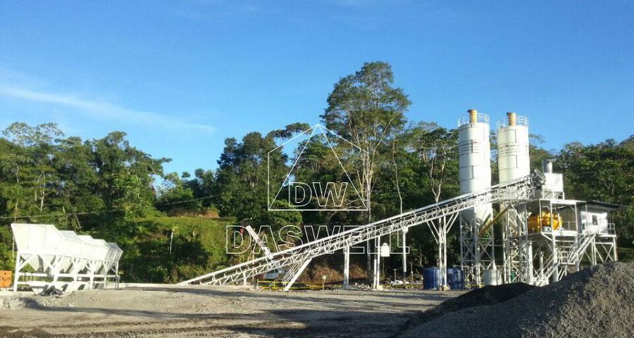 CBP90 cement batching plant Philippines