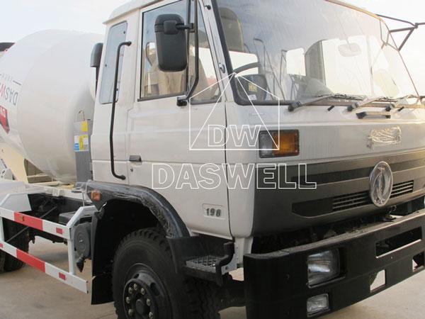 DW-3 concrete agitator mixer truck