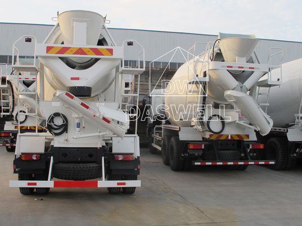 DW-3 mini truck concrete mixer