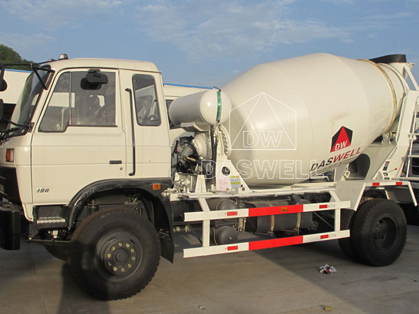 DW-3 small concrete mixer truck