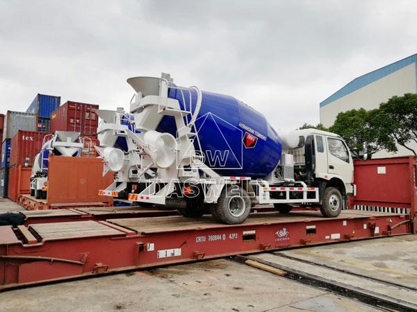 DW-4 agitator mixer truck