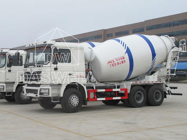 DW-5 mini mixer truck