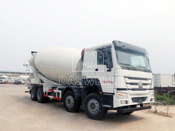 DW-5 small concrete mixer truck for sale