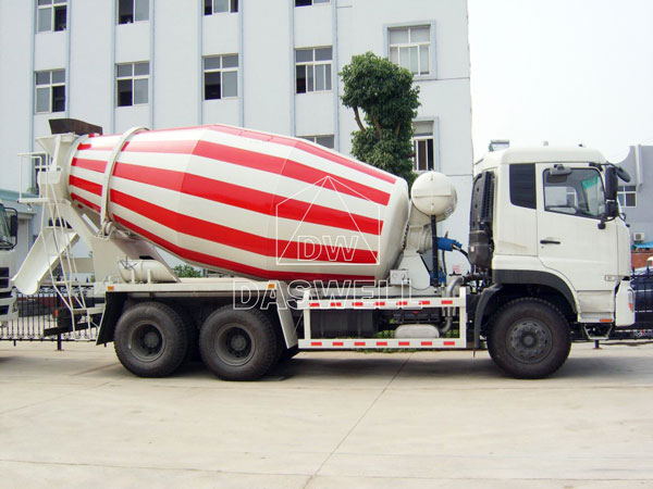 DW-6 mini concrete mixer truck for sale