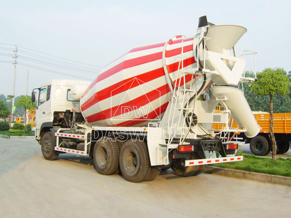 DW-6 small mixer truck for sale