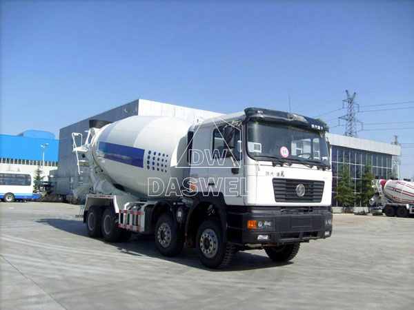 DW-8 concrete agitator truck machine