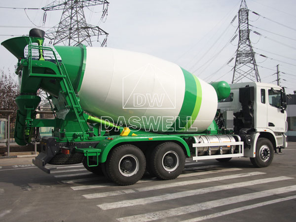 DW-8 small concrete mixer truck for sale