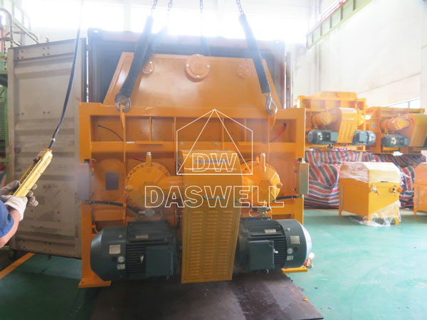 MAO3000 twin shaft mixer
