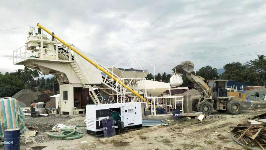 MCBP25 cement batch plant for sale