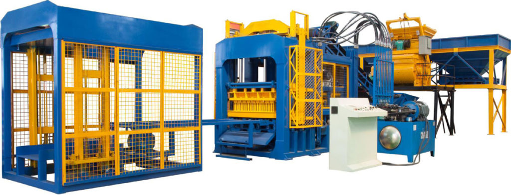 QT12-15 interlocking brick machine for sale