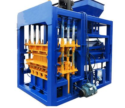 QT4-15 interlocking brick machine for sale