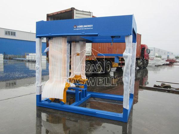 QT6-15 block molding machine frame