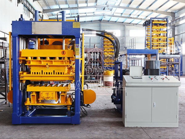 QT6-15 interlocking brick machine for sale