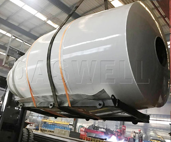 mixer drum of small concrete truck