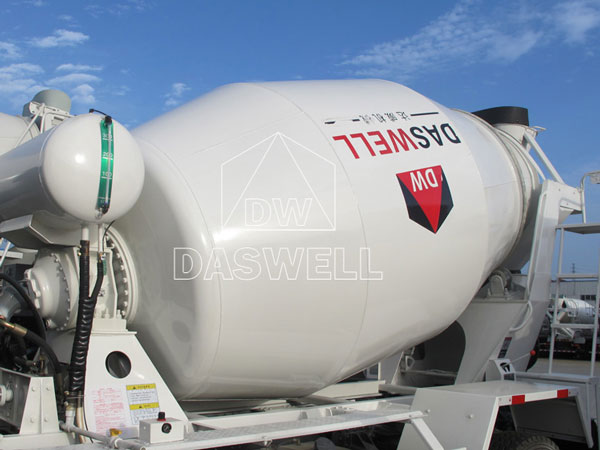 mixer drum of small mixer truck