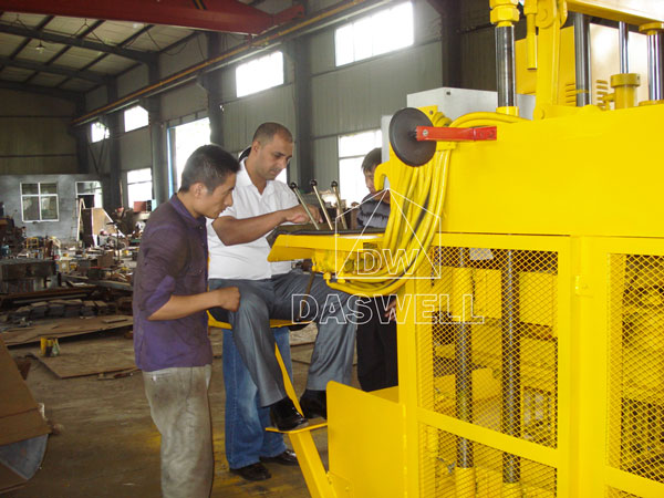 our customers visit factory