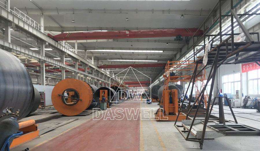 production factory of concrete agitator truck