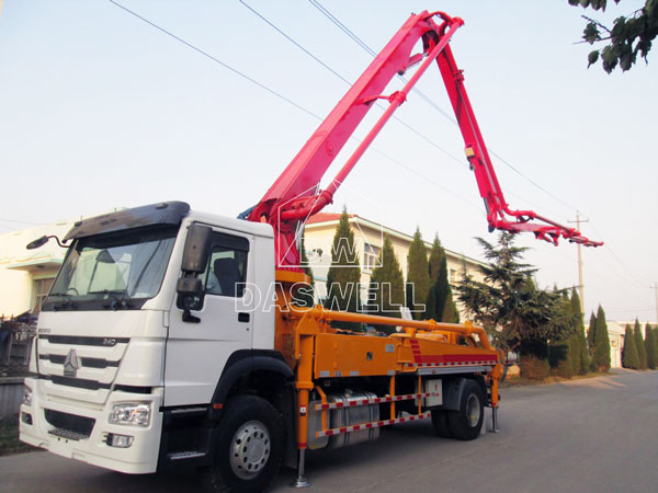 29m mini concrete pump for sale