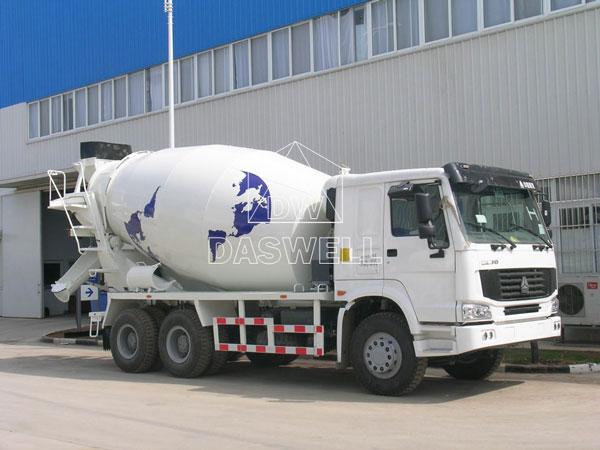 DW-10 concrete cement mixer truck