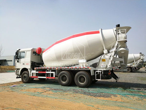 DW-12 cement mixing truck machine