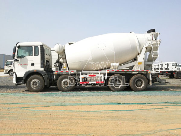 DW-14 cement mixer machine truck