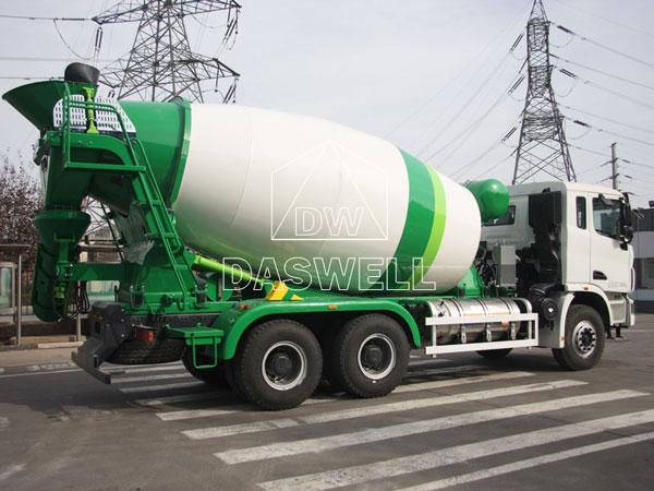 DW-8 cement concrete mixer truck