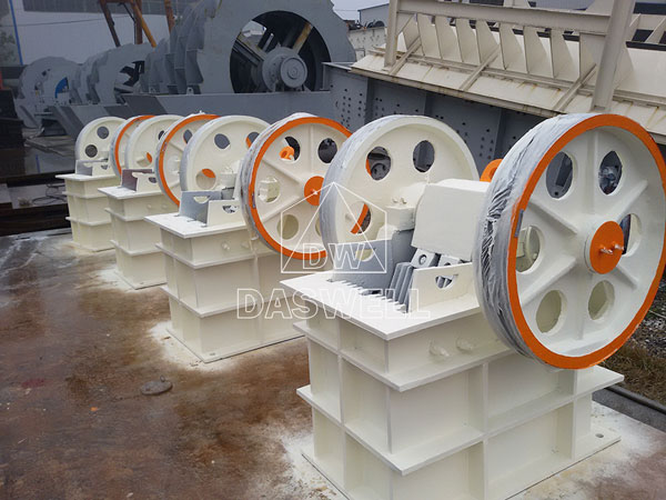 PE250400 jaw crusher daswell