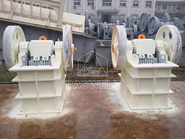 PE250400 jaw crusher