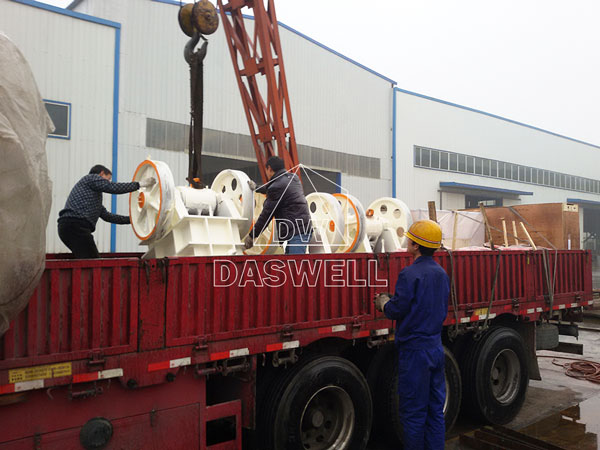 PE250400 transport jaw crusher machine