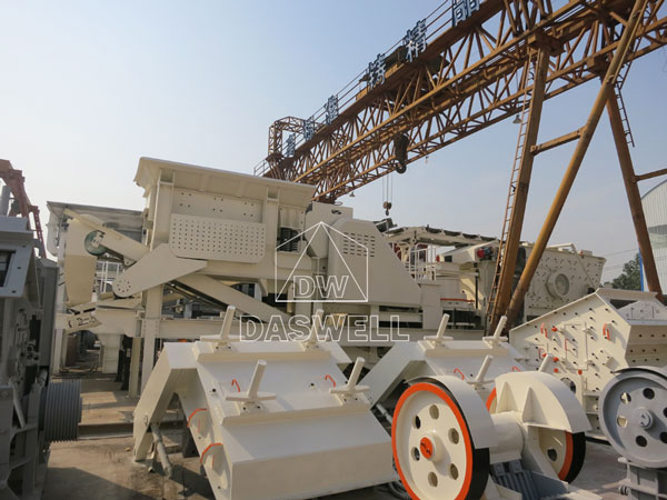 daswell machine mobile crusher equipment