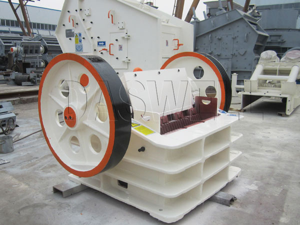 daswell machinery jaw crushing machine