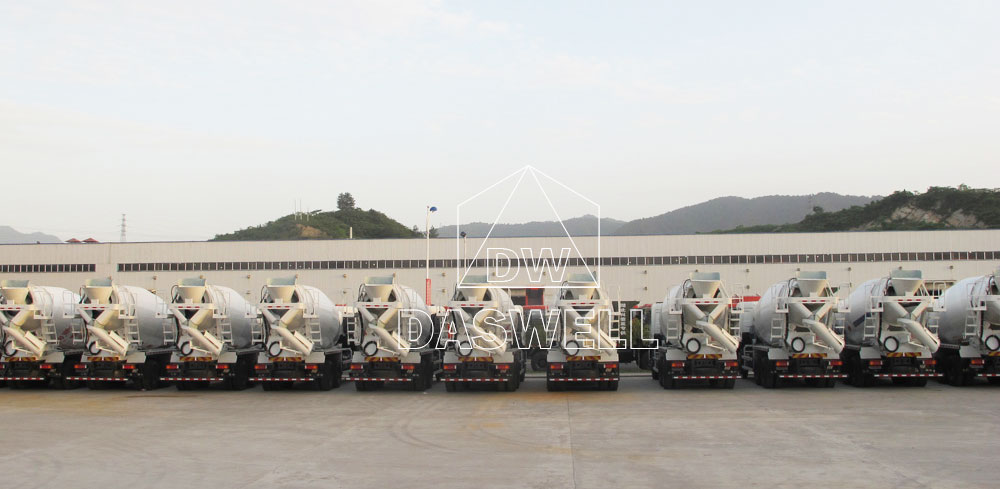 our cement mixer truck factory