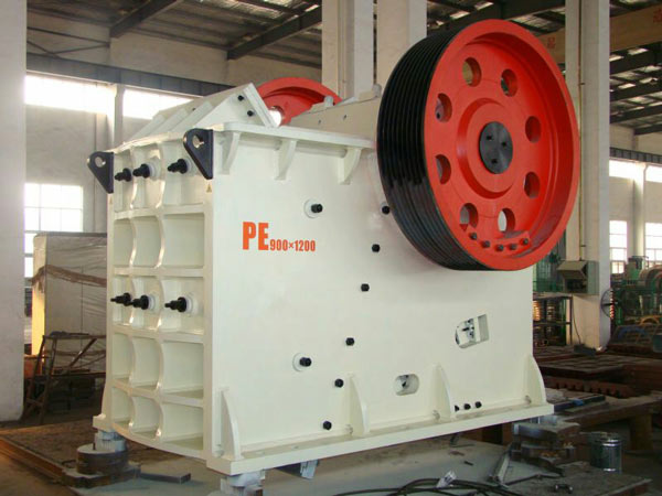 PE900X1200jaw crushing machine