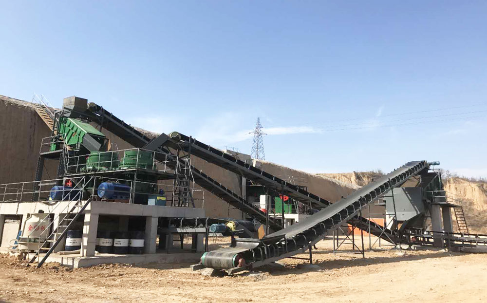 complete aggregate crushing plant