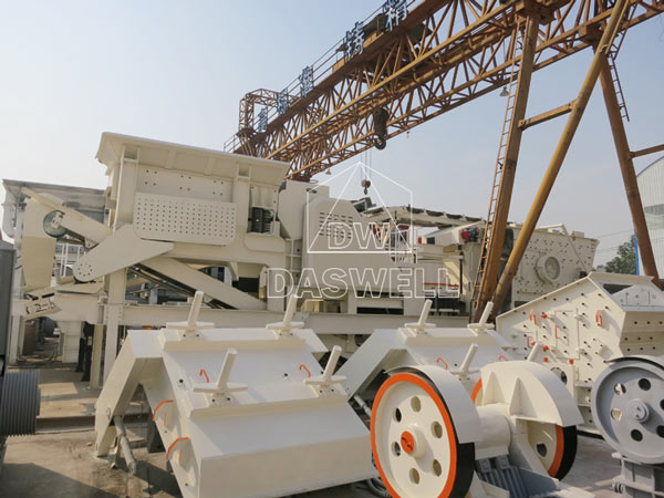 components of the mobile crushing plant